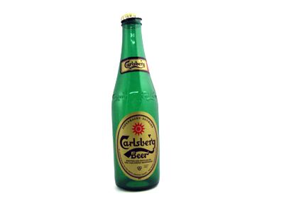 Vanishing Carlsberg Bottle