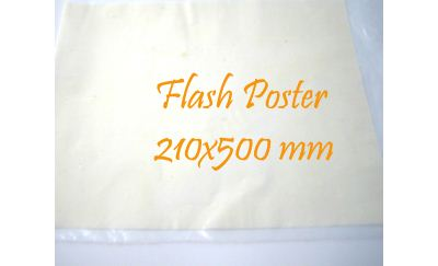 Flash Poster 200x500 mm, 2 st