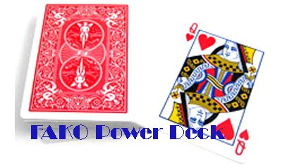 Bicycle Poker FAKO Power Deck