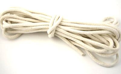 Rope Cotton, white 10 m