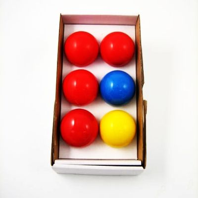 Multipl Balls soft 40 mm red