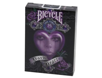 Bicycle Ann Stokes Dark Hearts