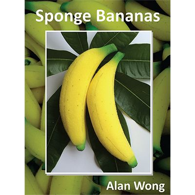 Sponge Bananas, large