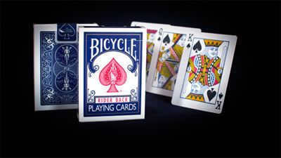 Bicycle Poker Rider Back 807, blue