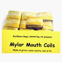 Mouth Coils, mylar