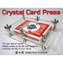 Card Press Crystal