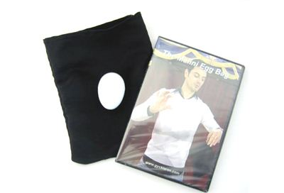 Malini Egg Bag, black + dvd