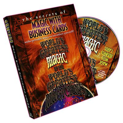 Business Card Magic Wgm Dvd Magic From Party Tricks To
