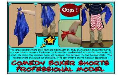 Comedy Boxer Shorts, pro model