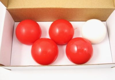 Multipl Balls soft 50 mm red