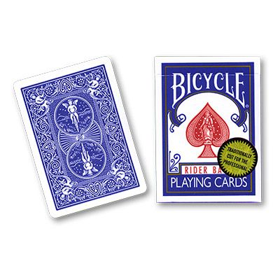 Bicycle Poker, blue, Gold Seal