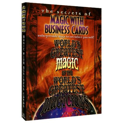 Business Card Magic Wgm Download Magic From Party Tricks To
