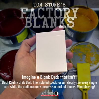 Factory Blanks by Tom Stone