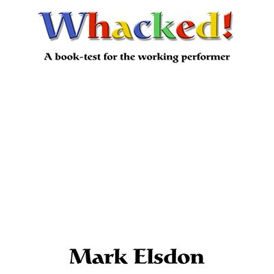 Wacked, book test - M Elsdon