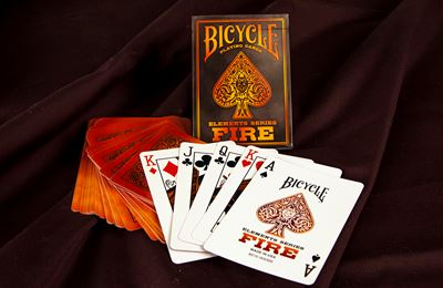 Bicycle Poker Fire