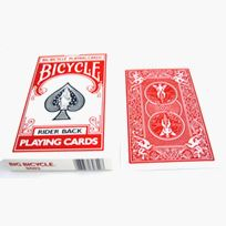 Bicycle Jumbo Deck red