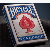 Bicycle Poker blue