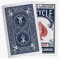 Bicycle Jumbo Deck blue