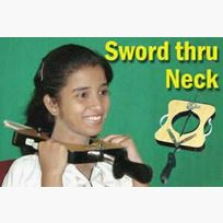 Sword for Sword Thru Neck