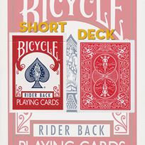Bicycle Short Deck, red