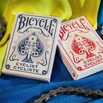 Bicycle Poker Cyclist,blue