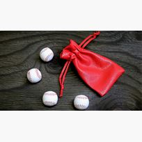 Cups & Balls, Mini Baseballs (4)