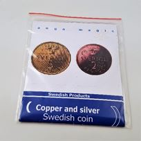 Copper Silver Coin -  5kr/2kr