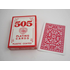 Fournier 505 Poker red