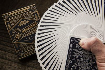 Monarchs Deck, navy blue